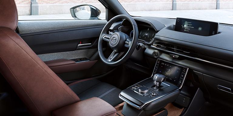 Style intérieur du Nouveau Mazda MX-30, voiture 100% électrique